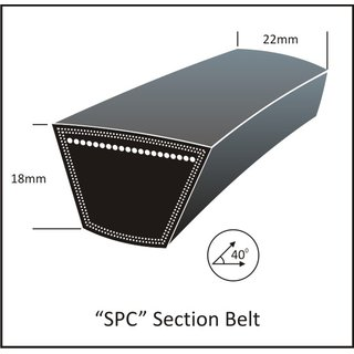 Keilriemen SPC 5300 Lw