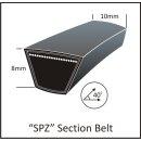 Keilriemen SPZ 1212 LW / AV 10/9,5 x1225 LA...